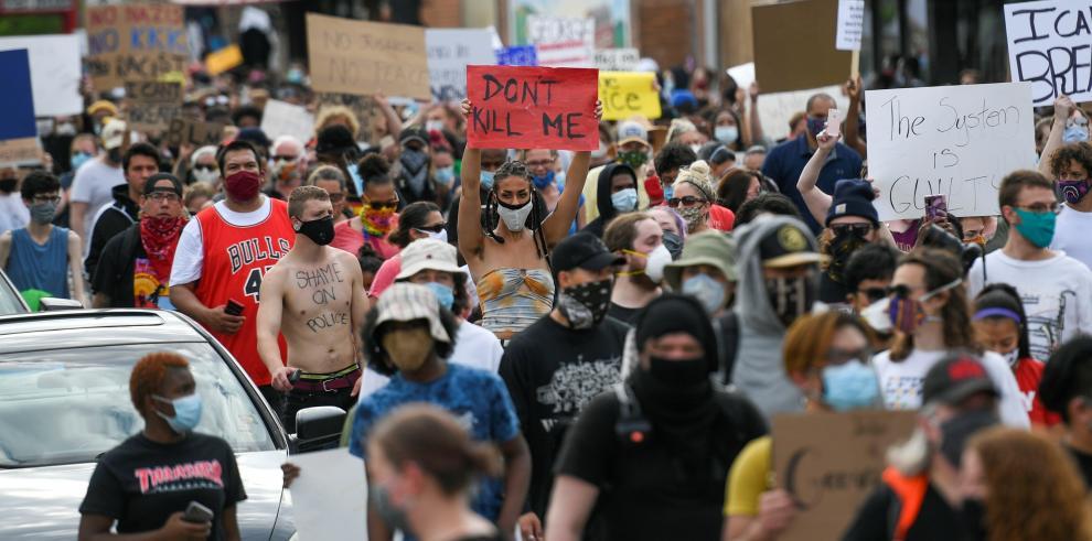 Protesta en Estados Unidos
