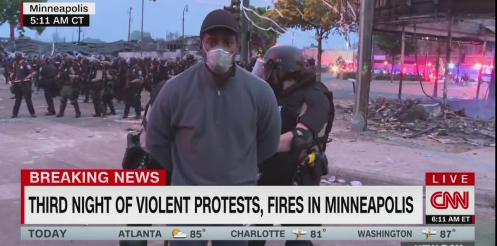 Arresto de periodista de CNN