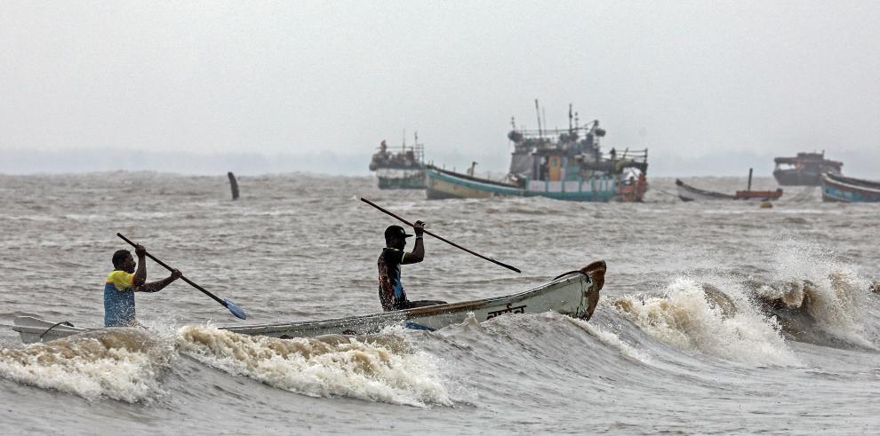 Ciclón Nisarga de la india