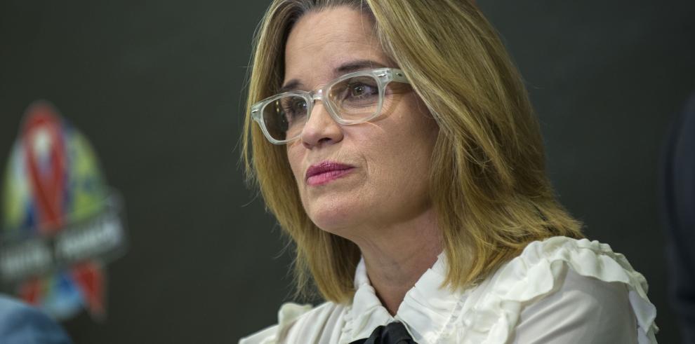 La alcaldesa de San Juan, Puerto Rico, Carmen Yulín Cruz