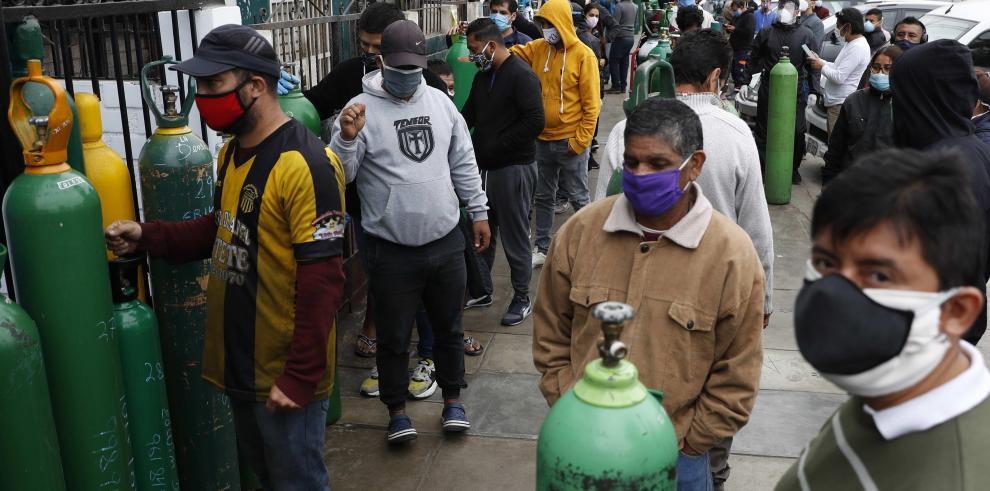 Compra de oxígeno en Perú