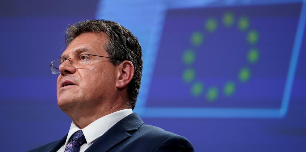 Maros Sefcovic, vicepresidente de la Comisión Europea para Relaciones Interinstitucionales