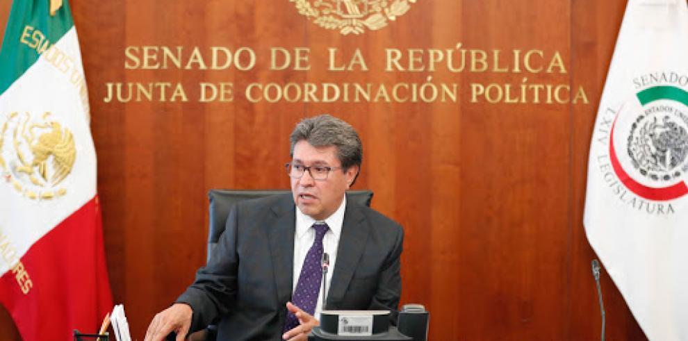 El senador mexicano Ricardo Monreal