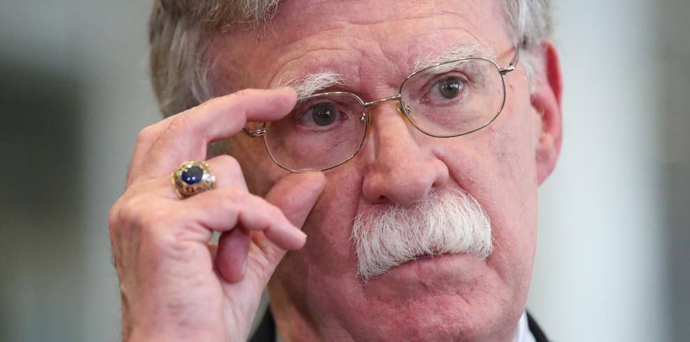 John Bolton,  exasesor de seguridad nacional
