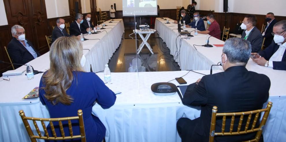 Reunión de los exministros de Salud