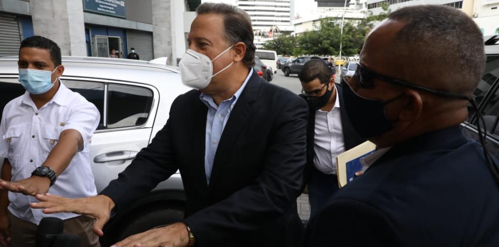 El expresidente Juan Carlos Varela.