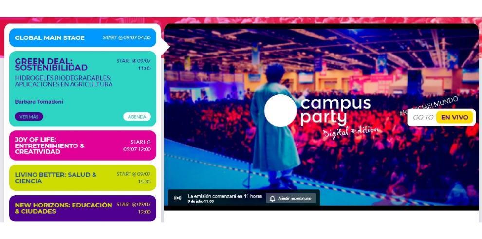 Campus Party edición digital invita a reiniciar el mundo