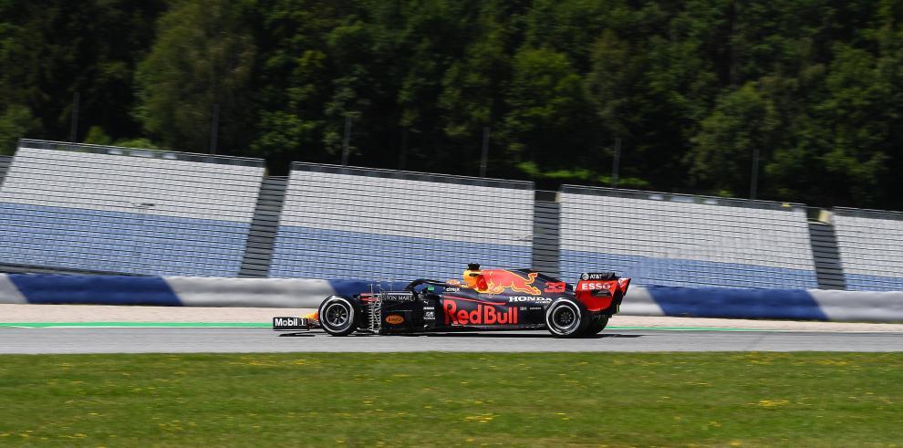El holandés Max Verstappen (Red Bull)