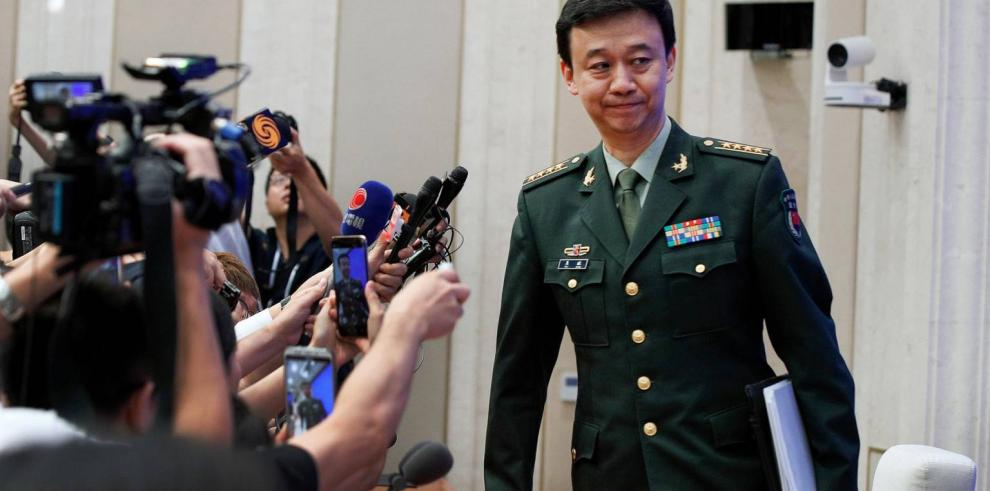 Wu Qian, portavoz de China