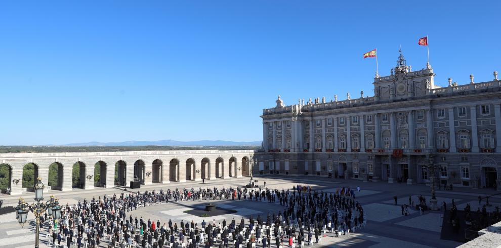 Patio de la Armería del Palacio Real de España