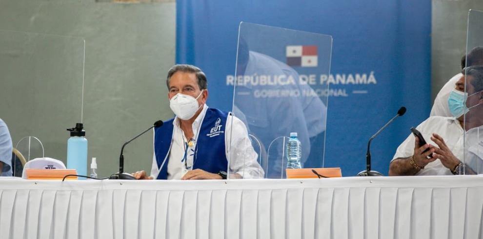 Presidente Laurentino Cortizo