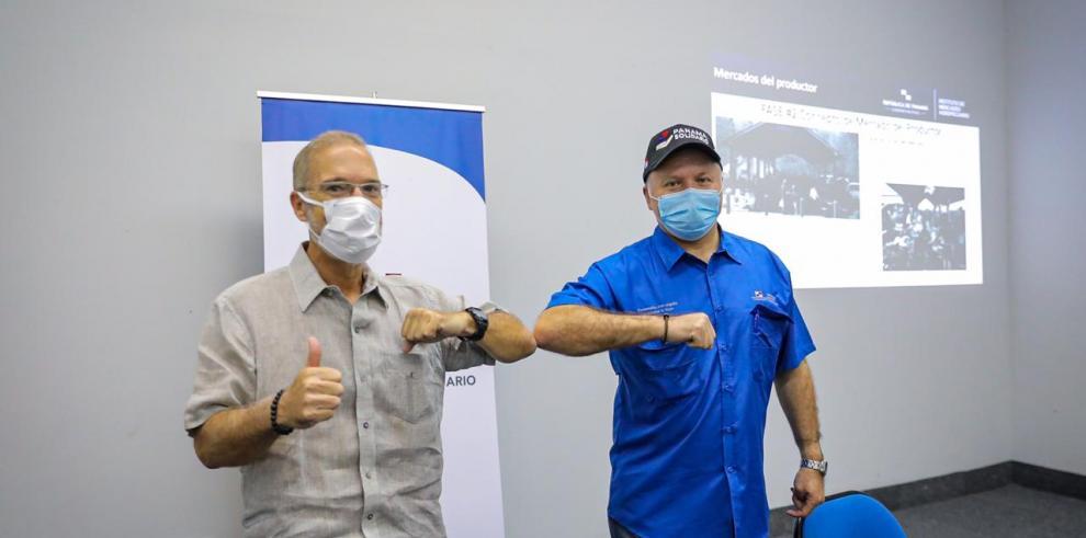 José Luis Fábrega, MUPA junto a Manuel Araúz, IMA