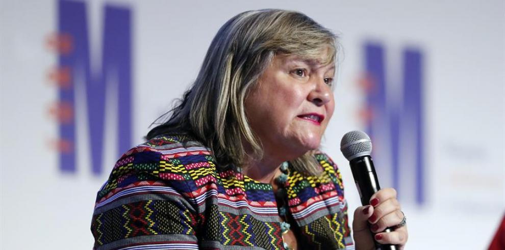 la directora de ONU Mujeres para las Américas y el Caribe, María Noel Vaeza.