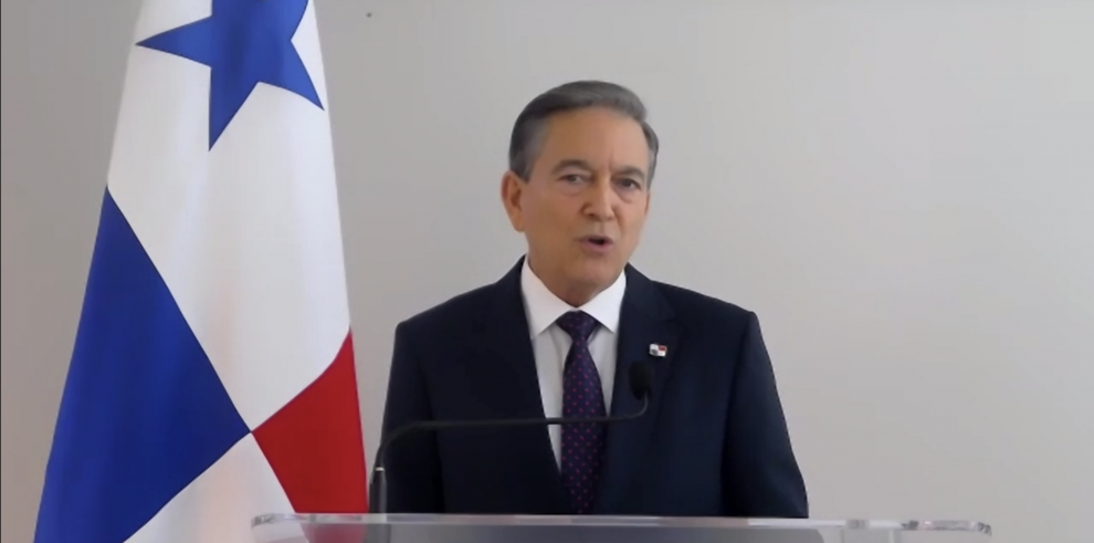 Presidente de la República, Laurentino Cortizo