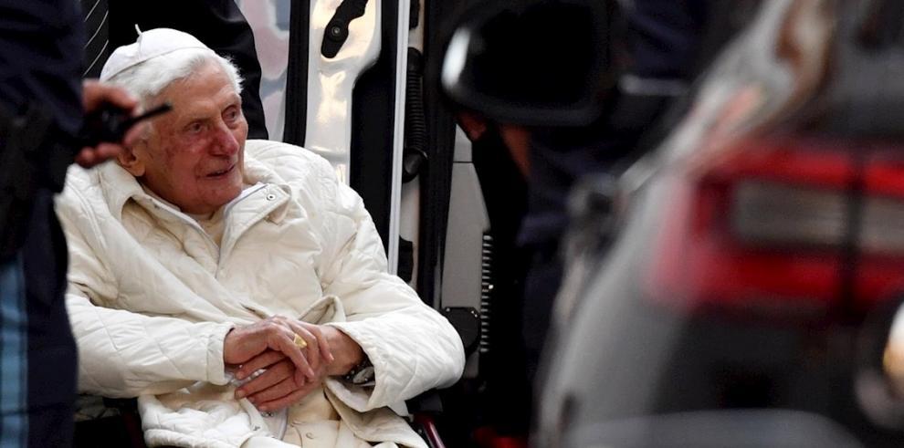 El papa emérito Benedicto XVI.