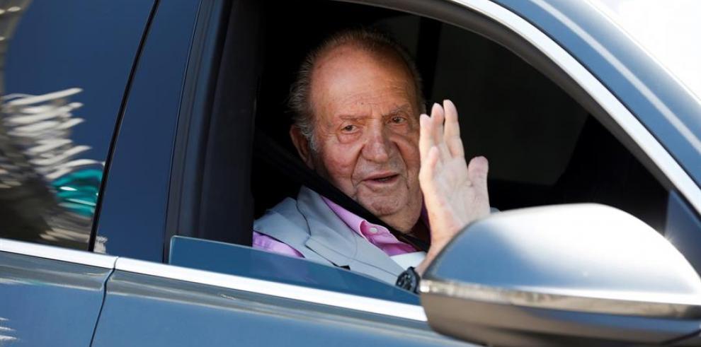 En la imagen, el rey emérito de España, Juan Carlos I.