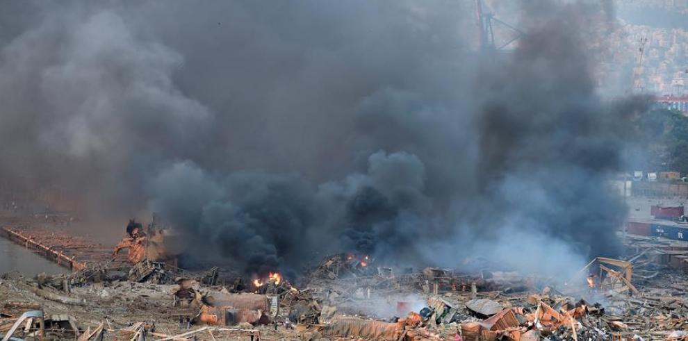 Explosión en Líbano