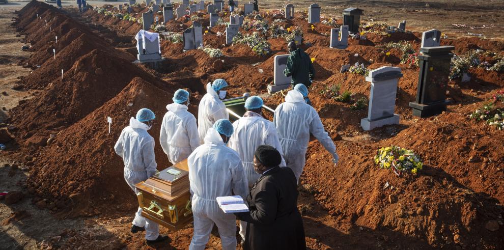 Coronavirus muertos