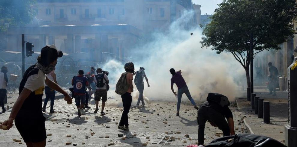 Enfrentamientos en Beirut