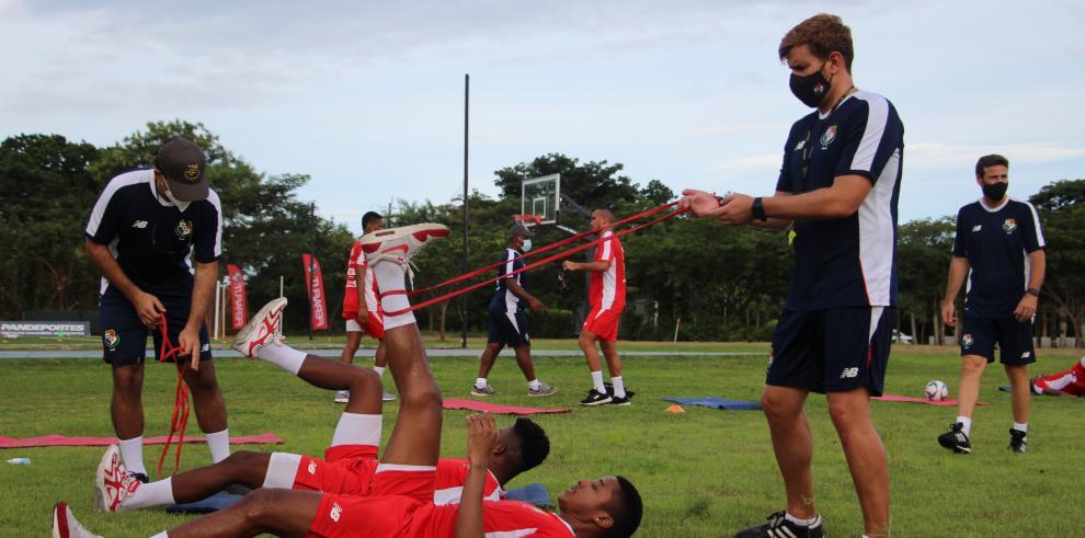 Selección nacional arrancó su preparación en modo 'burbuja'