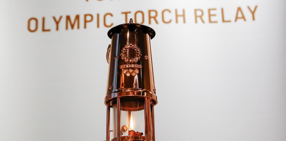 La llama olímpica será exhibida al público en un museo de Tokio