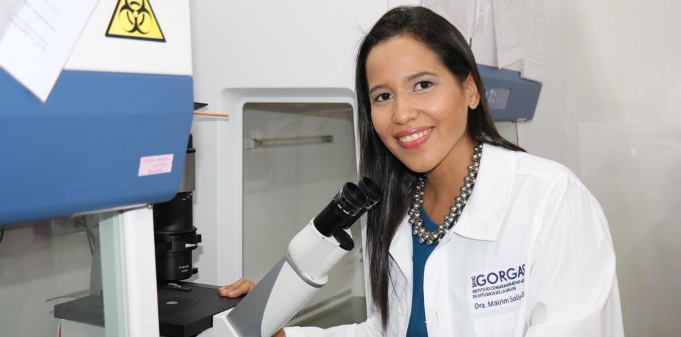Mairim Solís, científica de la salud en el ICGES