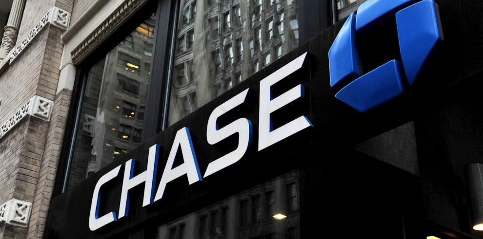 Vista de una sucursal del JPMorgan Chase bank, el 6 de enero de 2014, en Nueva York (Estados Unidos)