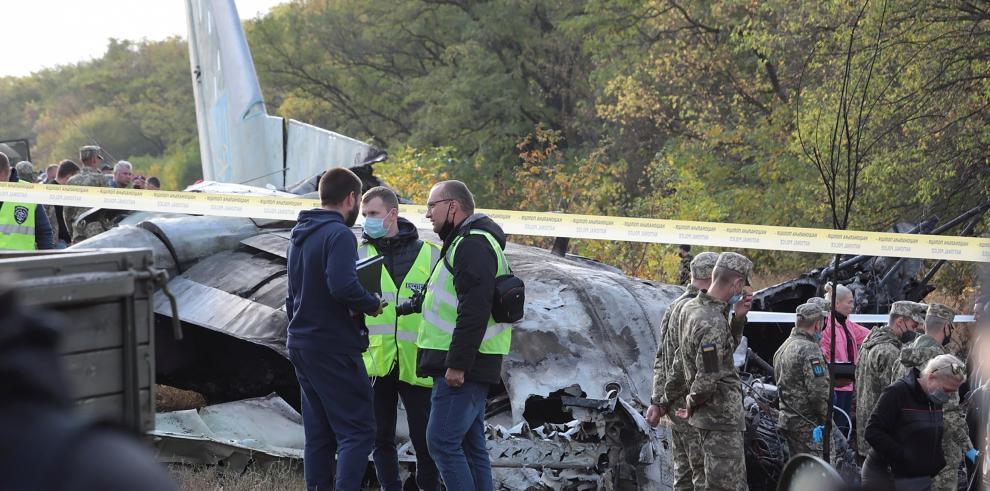 Accidente en Ucrania
