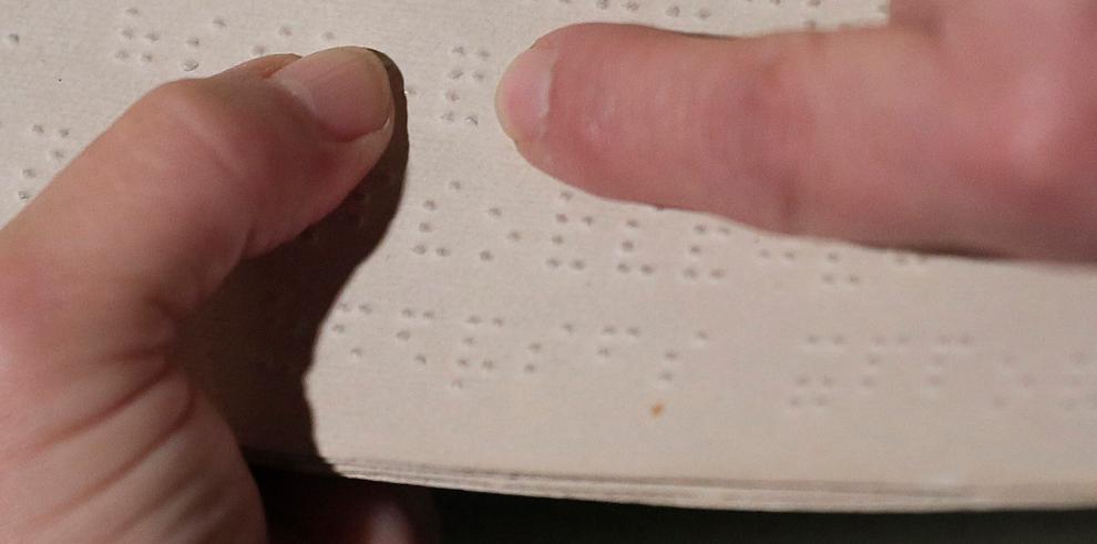 Página en Braille