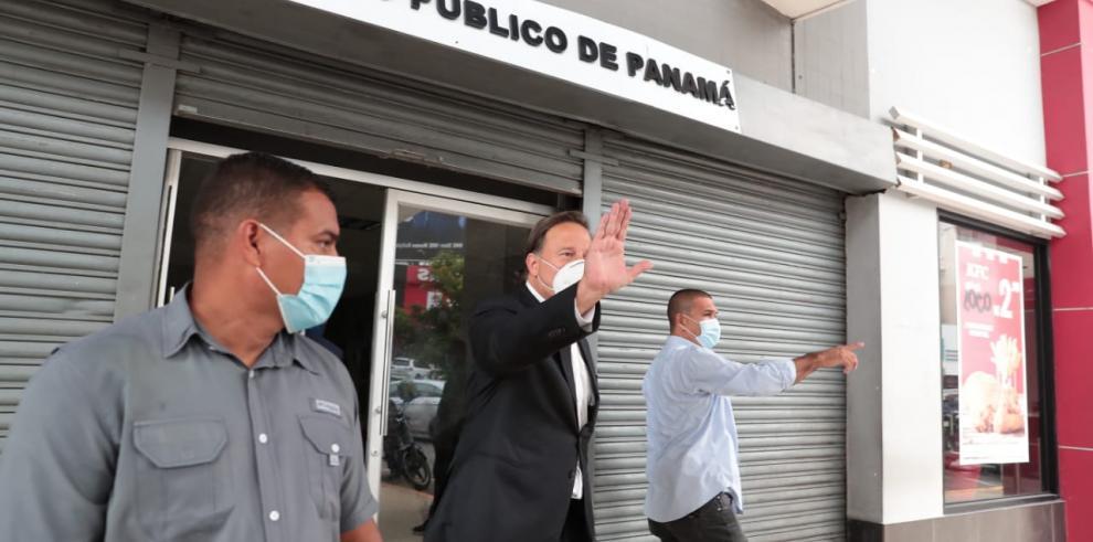 Varela acude a la Fiscalía a rendir indagatoria