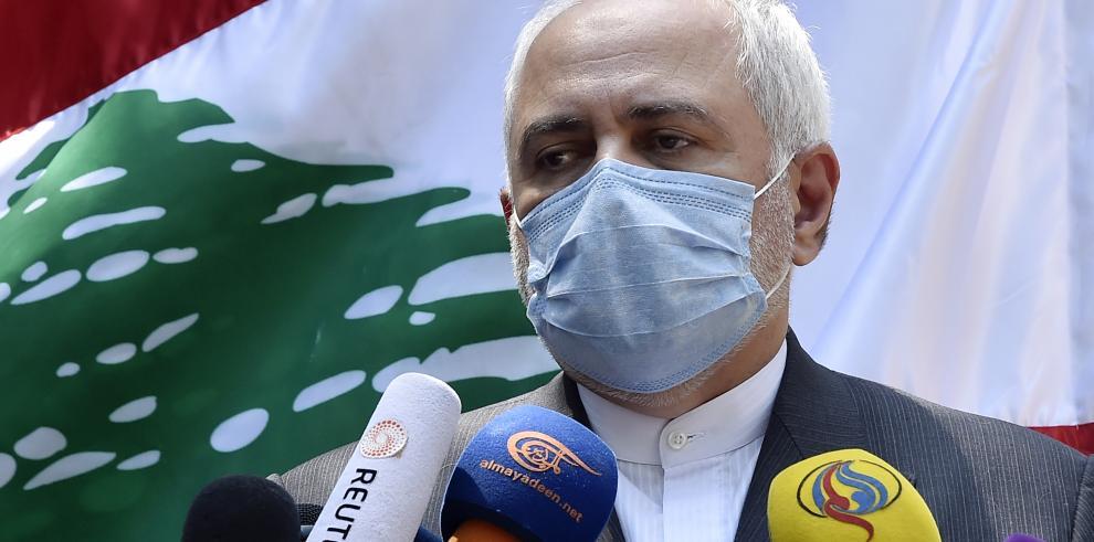 El ministro iraní de AAEE Mohammad Javad Zarif