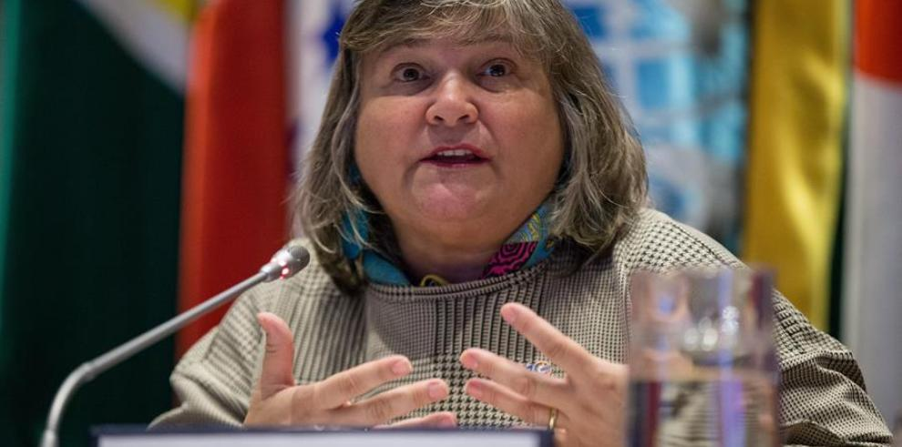 Directora regional de ONU Mujeres, María Noel Vaeza.