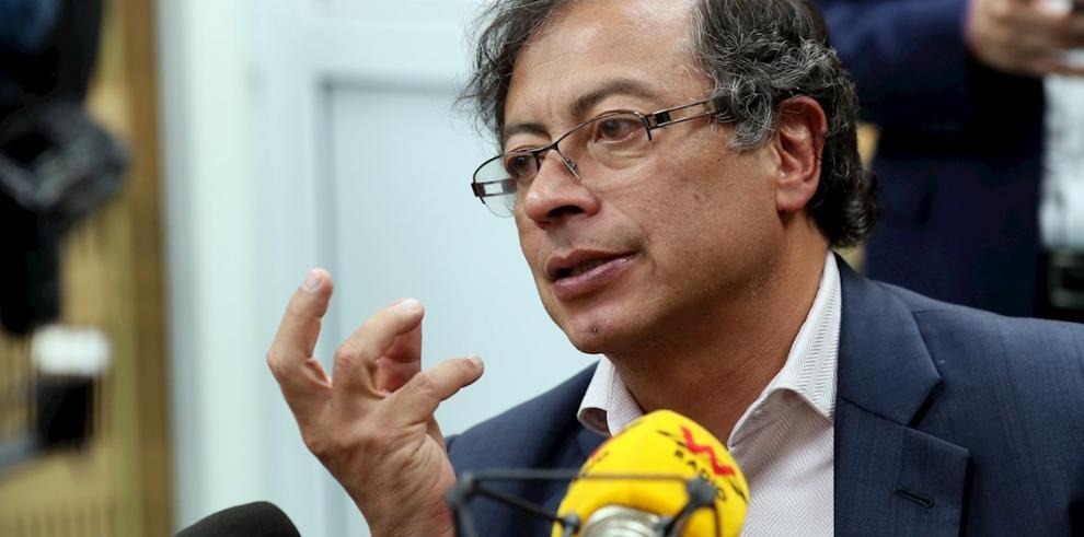 Gustavo Petro, senador y excandidato presidencial de Colombia