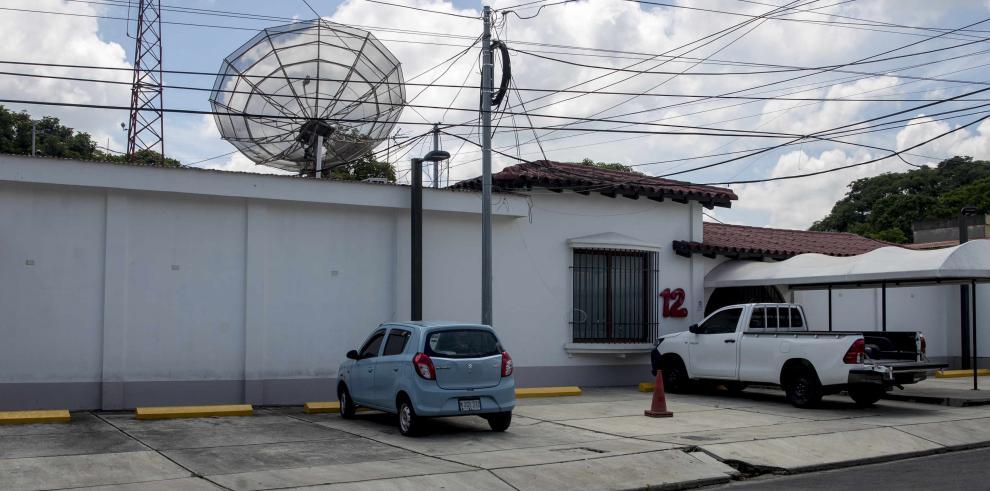 Canal 12 de televisión, en Managua