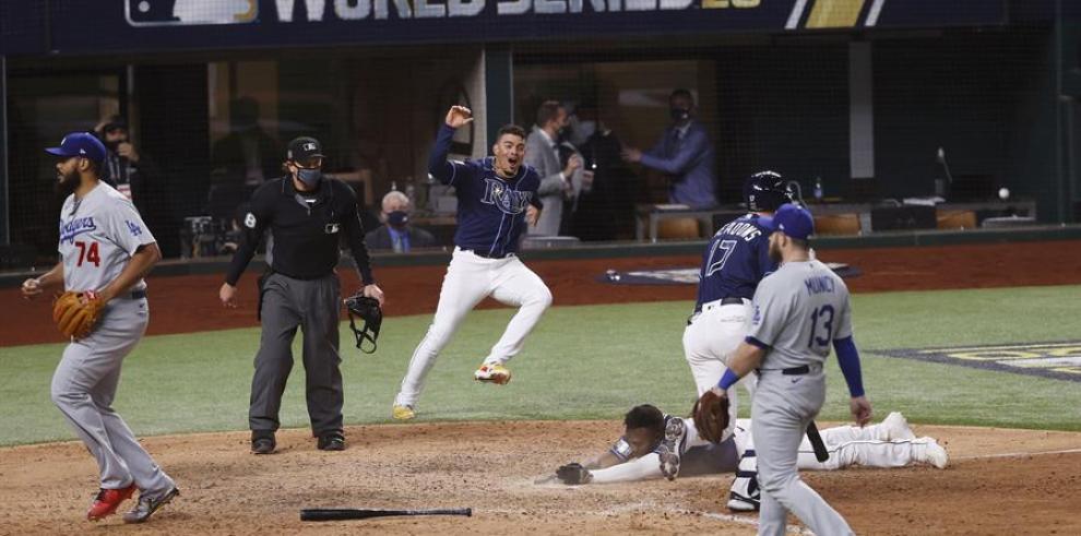 Los Rays protagonizan un final poco esperado y empatan la Serie Mundial