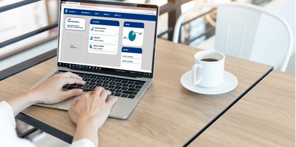 Caja en línea ofrece acceso a las cuentas los 365 días del año, las 24 horas del día sin importar el lugar donde te encuentres.