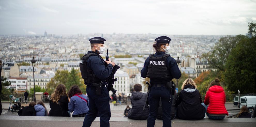Policías de Francia
