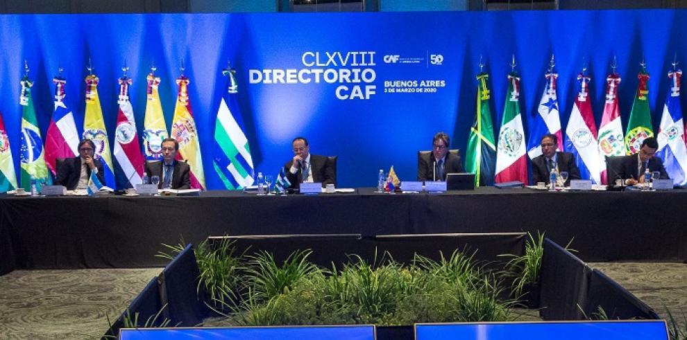 Directorio de CAF sobre pensiones