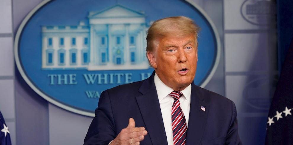 El presidente de Estados Unidos, Donald J. Trump.