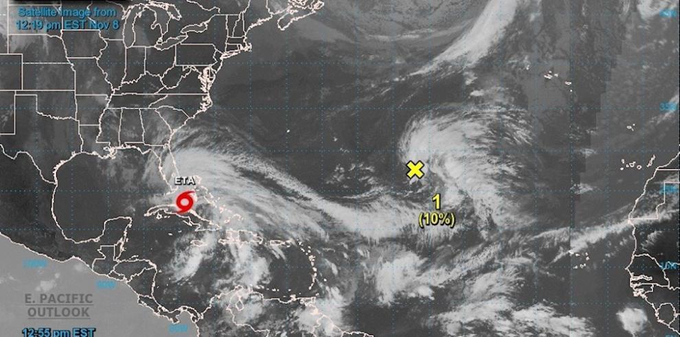 Tormenta tropical Eta, hoy 8 de noviembre