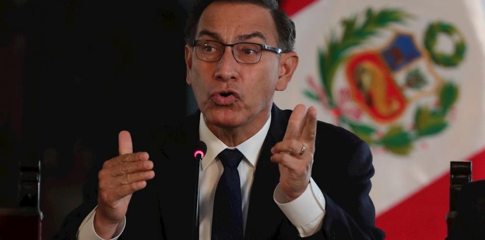 Martín Vizcarra, expresidente peruano