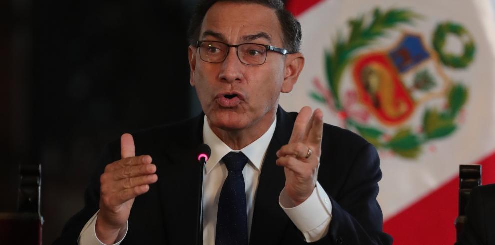 Expresidente peruano Martín Vizcarra