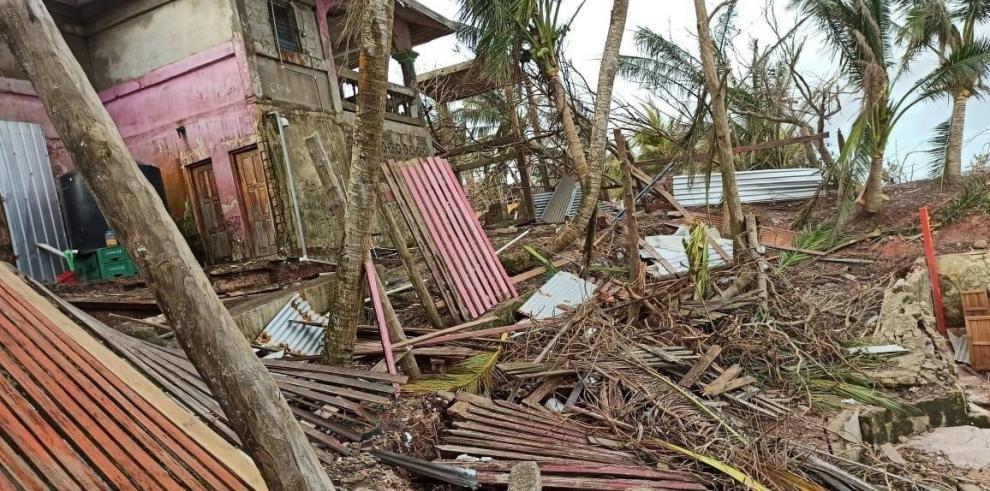 A falta de un recuento de daños, ya está confirmado que la ciudad fue arrasada casi por completo