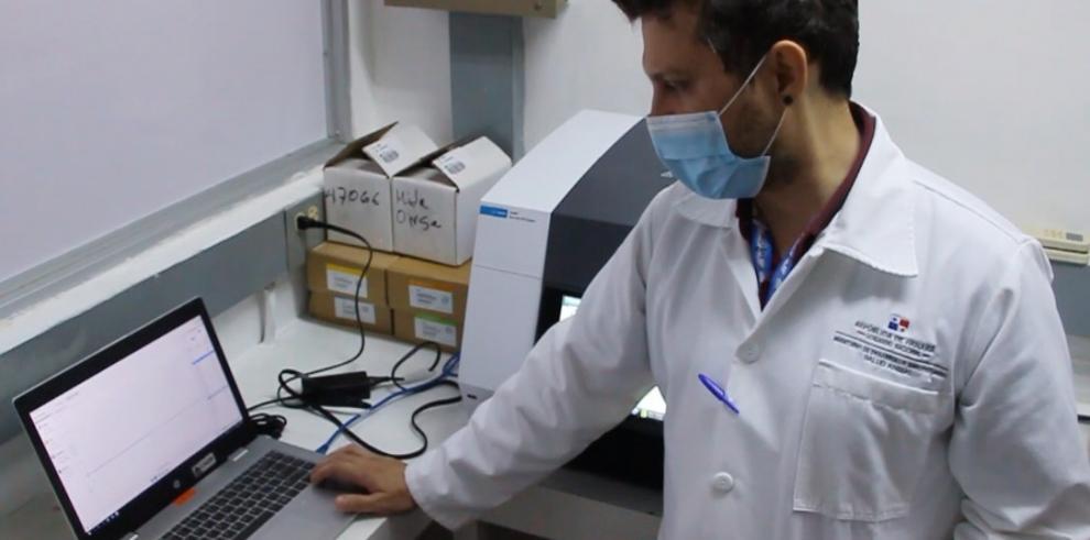 Laboratorio de residuos tóxicos