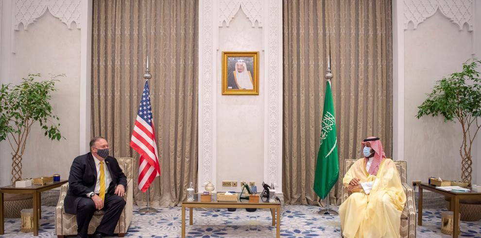 El secretario de Estado de EE.UU. llega a Arabia Saudí