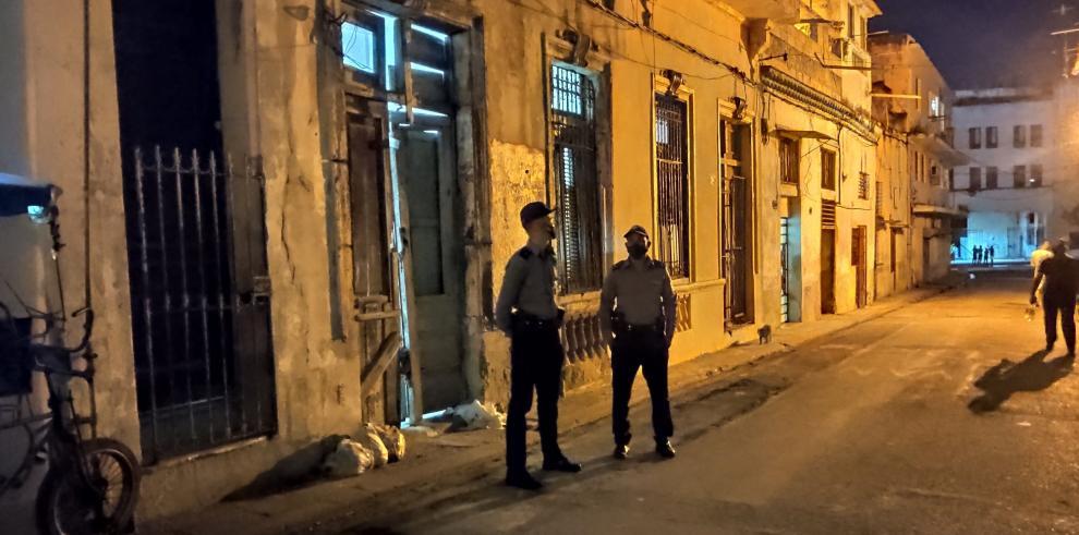 Policía de Cuba