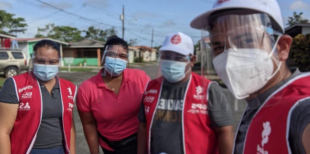 Voluntarios del Instituto Conmemorativo Gorgas