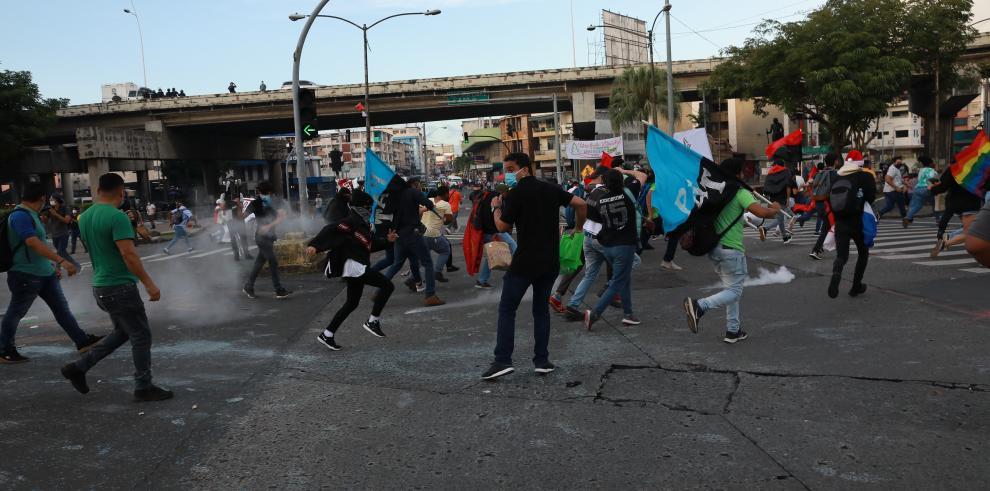 Protestas en la 5 de Mayo