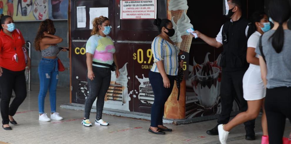 Panamá empezó a aplicar nuevas medidas de movilización por el repunte de la covid-19