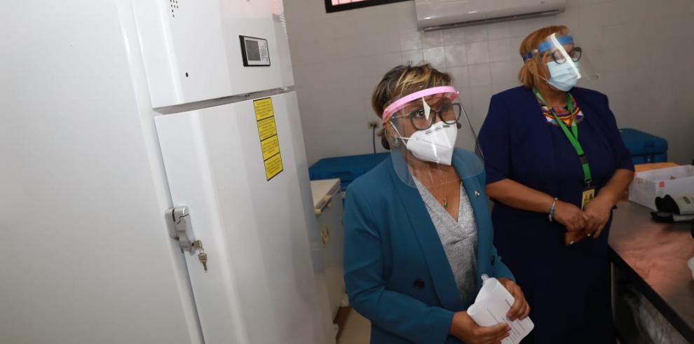 Ivette Berrío, viceministra del Minsa